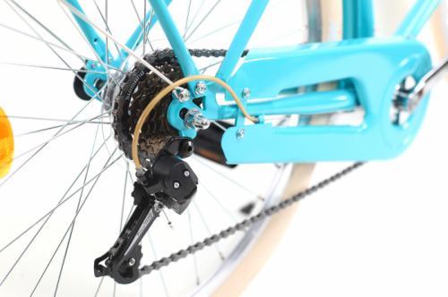 Bicicleta oras Dhs Citadinne 2634 M verde light 26 inch - Biciclete copii  -