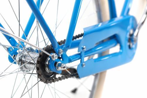 Bicicleta oras Dhs Citadinne 2832 L albastru 28 inch - Biciclete copii  -
