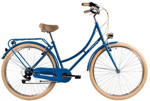 Bicicleta oras Dhs Citadinne 2834 M albastru 28 inch - Biciclete copii  -