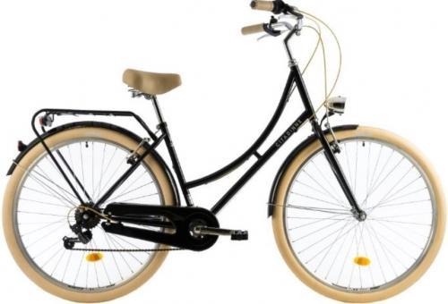 Bicicleta oras Dhs Citadinne 2834 M negru 28 inch - Biciclete copii  -