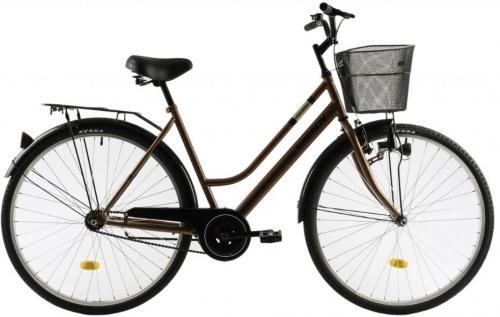 Bicicleta oras Dhs Kreativ 2812 520 mm maro 28 inch - Biciclete copii  -