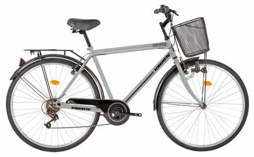 Bicicleta oras Kreativ 2813 L gri 28 inch - Biciclete copii  -