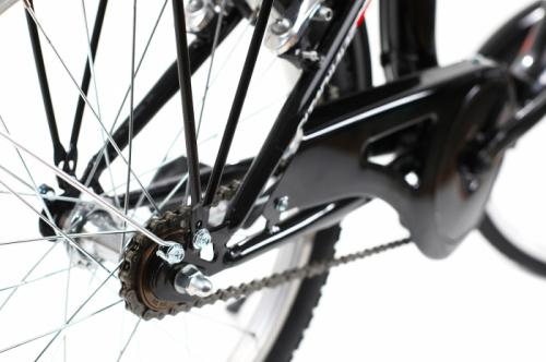 Bicicleta pliabila Dhs 2092 negru 20 inch - Biciclete copii  -