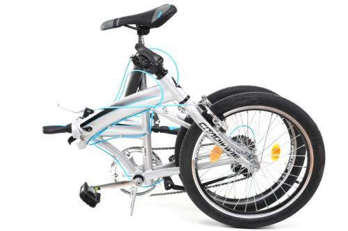 Bicicleta pliabila Dhs 2095 gri 20 inch - Biciclete copii  -