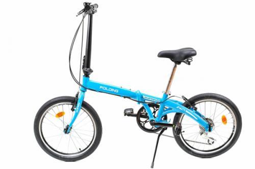 Bicicleta pliabila Supra Folding albastru 20 inch - Biciclete copii  -