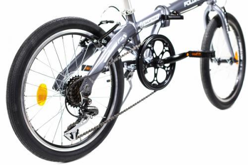 Bicicleta pliabila Supra Folding gri 20 inch - Biciclete copii  -