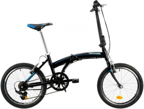 Bicicleta pliabila Venture 2091 negru 20 inch - Biciclete copii  -