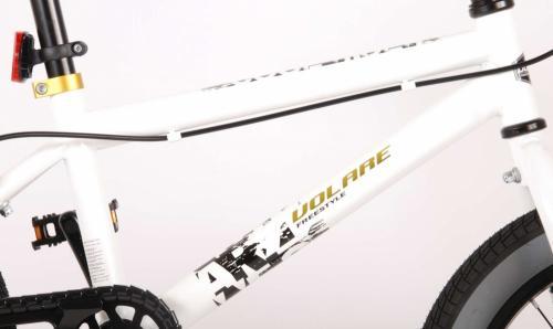 Bicicleta Volare Cool Rider 16 inch alba - Biciclete copii  -