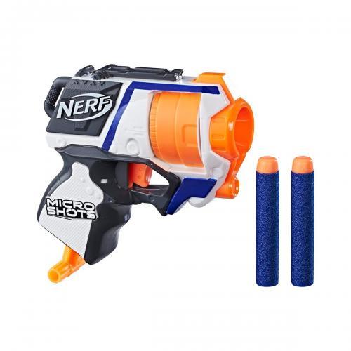 Blaster Nerf N-Strike Elite Microshots Strongarm (E7019) - Jocuri in aer liber -