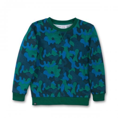 Bluza cu maneca lunga Minoti Roar - Imbracaminte copii - Bluze corp
