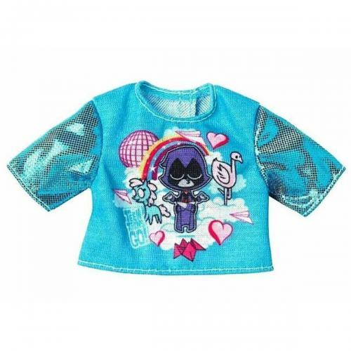 Bluza pentru papusa Barbie Teen Titans FXJ81 - Papusi fetite -