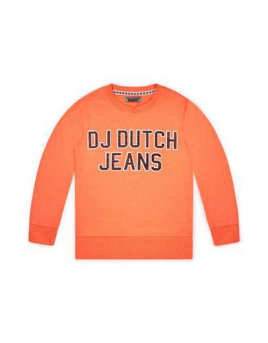 Bluza sport cu model aplicat DJ Dutchjeans - Imbracaminte copii - Bluze corp
