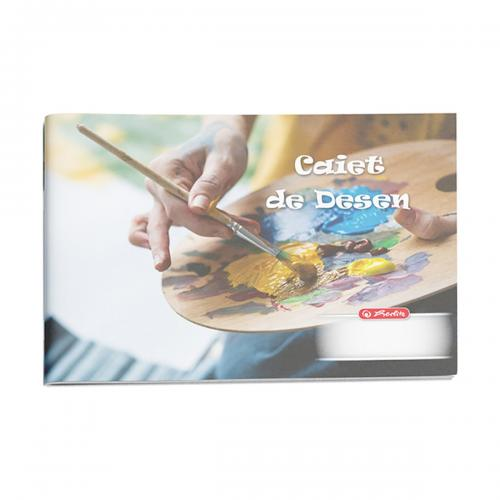Caiet desen Herlitz - 24 file - Rock Your School - Rechizite scolare -