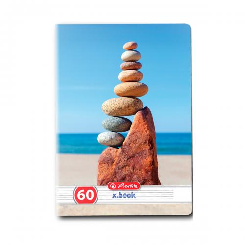Caiet dictando Herlitz – A5 – 60 file – Zen