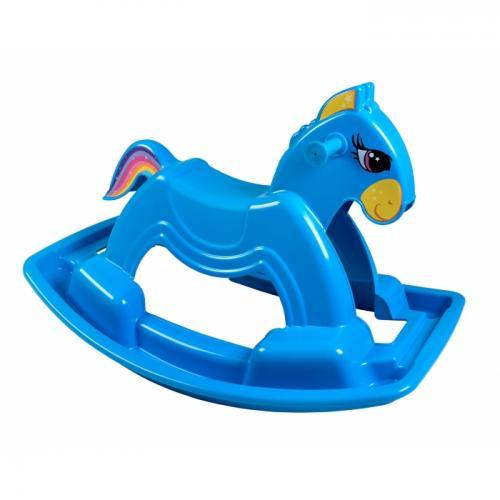 Calut balansoar Marmat albastru - Balansoare copii -
