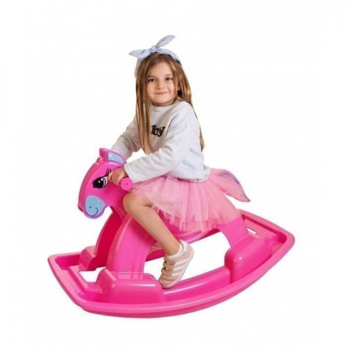 Calut balansoar Marmat roz - Balansoare copii -