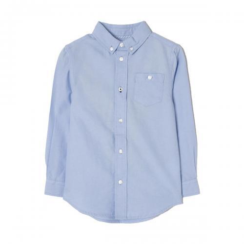 Camasa cu maneci lungi Zippy Oxford - Albastru - Imbracaminte copii - Camasi