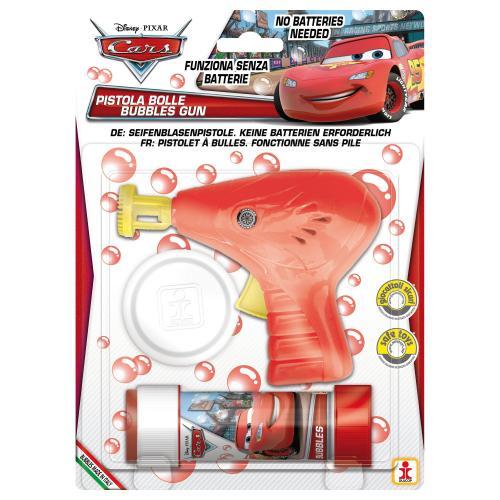 Cars - Pistol baloane de sapun - rosu - Jucarii copii -