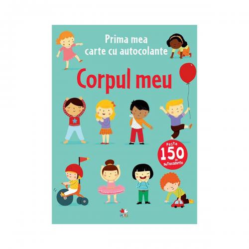 Carte cu autocolante Editura Litera - Corpul meu - Carti pentru copii -