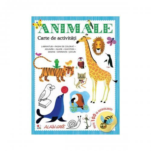 Carte de activitati Editura Litera - Animale - Carti pentru copii -