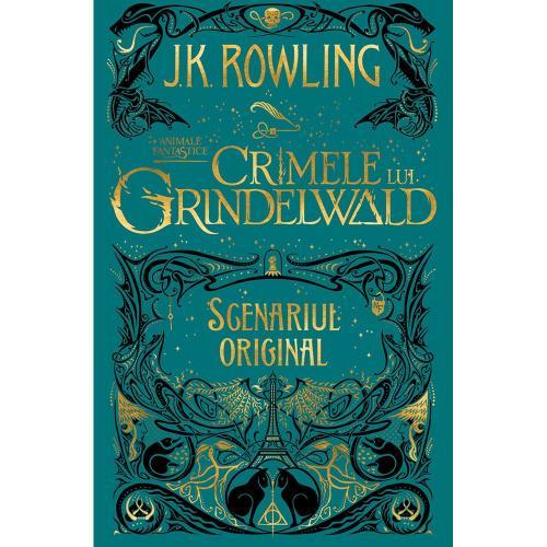 Carte Editura Arthur - Animale fantastice 2 Crimele lui Grindelwald - JK Rowling - Carti pentru copii -