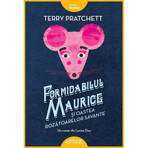 Carte Editura Arthur - Formidabilul Maurice si oastea rozatoarelor savante - Terry Pratchett - Carti pentru copii -