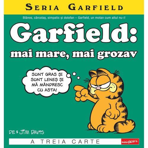 Carte Editura Arthur - Garfield: mai mare - mai grozav - Jim Davis - Carti pentru copii -