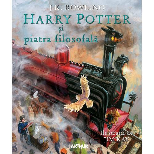 Carte Editura Arthur - Harry potter si piatra filozofala - JK Rowling - Carti pentru copii -