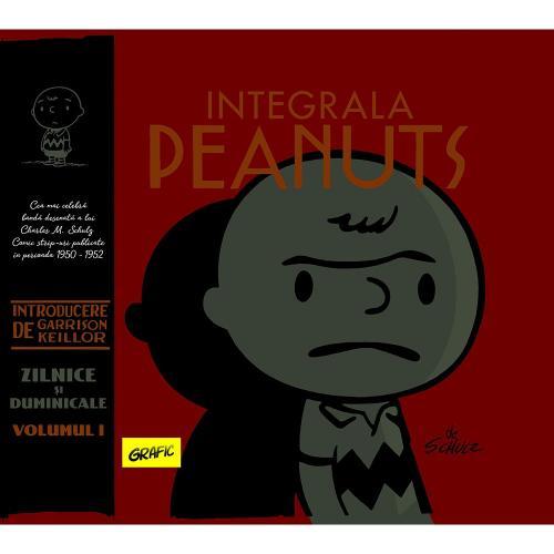 Carte Editura Arthur - Integrala Peanuts - Vol I - Charles M Schulz - Carti pentru copii -