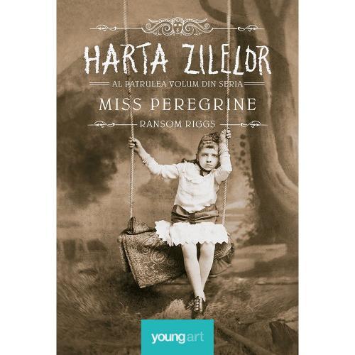 Carte Editura Arthur - Miss peregrine 4 Harta zilelor - Ransom Riggs - Carti pentru copii -