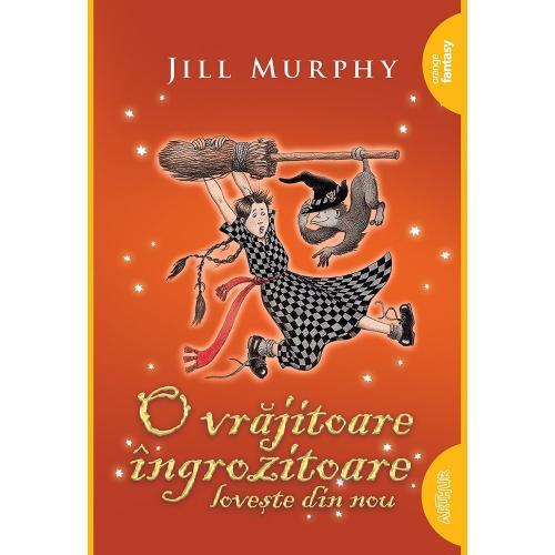Carte Editura Arthur - O vrajitoare ingrozitoare loveste din nou - Jill Murphy - Carti pentru copii -