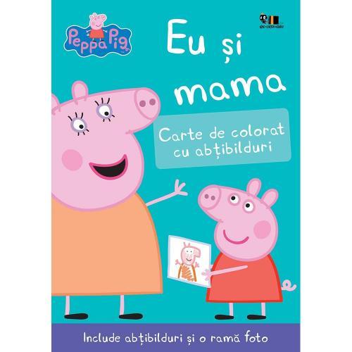Carte Editura Arthur - Peppa Pig: Eu si mama - Nelville Astley si Mark Baker - Carti pentru copii -