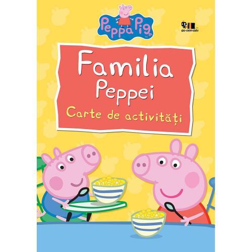Carte Editura Arthur - Peppa Pig: Familia Peppei - Nelville Astley si Mark Baker - Carti pentru copii -