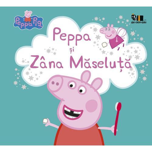 Carte Editura Arthur - Peppa Pig: Peppa si Zana Maseluta - Nelville Astley si Mark Baker - Carti pentru copii -