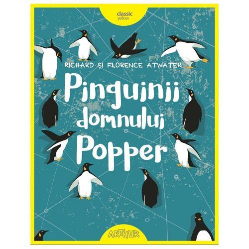Carte Editura Arthur - Pinguinii domnului Popper - editie noua - Carti pentru copii -