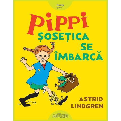Carte Editura Arthur - Pippi Sosetica se imbraca - Astrid Lindgren - Carti pentru copii -