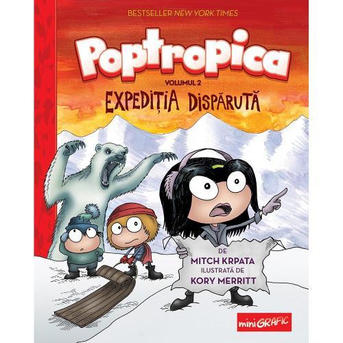 Carte Editura Arthur - Poptropica 2 Expeditia disparuta - Mitch Krpata - Carti pentru copii -