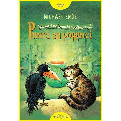 Carte Editura Arthur - Punci cu porunci (Cartonat) - Michael Ende - Carti pentru copii -