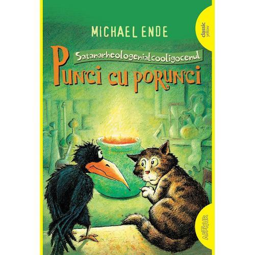 Carte Editura Arthur - Punci cu porunci (Necartonat) - Michael Ende - Carti pentru copii -