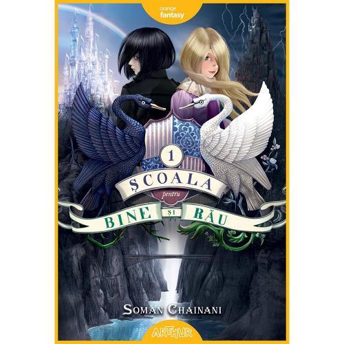 Carte Editura Arthur - Scoala pentru bine si rau 1 - Soman Chainani - Carti pentru copii -