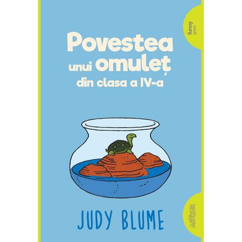 Carte Editura Arthur - Supercoltunas 1 Povestea unui omulet din cls a IV-a - Judy Blume - Carti pentru copii -