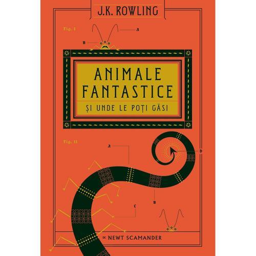 Carte Editura Arthur - Universul Harry Potter: Animale fantastice si unde le poti gasi - JK Rowling - Carti pentru copii -
