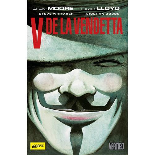 Carte Editura Arthur - V de la Vendetta - Alan Moore - David Lloyd - Carti pentru copii -