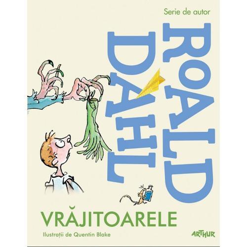Carte Editura Arthur - Vrajitoarele - Roald Dahl - Carti pentru copii -