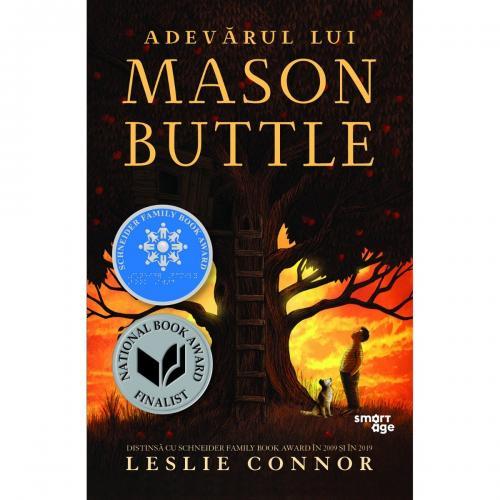 Carte Editura Corint - Adevarul lui Mason Buttle - Leslie Connor - Carti pentru copii -