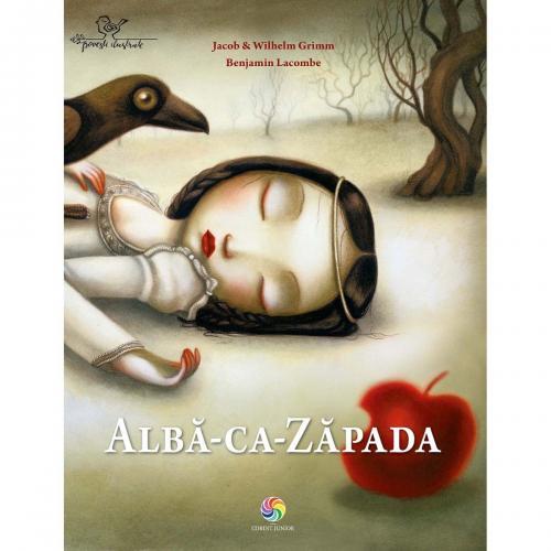 Carte Editura Corint - Alba ca Zapada - Jacob WIilhelm Grimm - Benjamin Lacombe - Carti pentru copii -