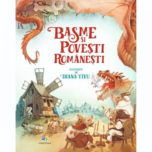 Carte Editura Corint - Basme si povesti romanesti - Carti pentru copii -