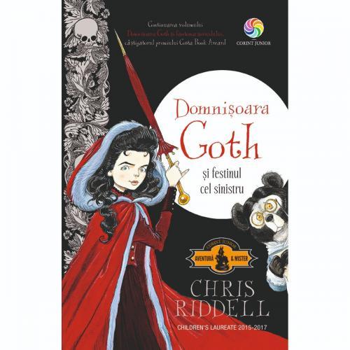 Carte Editura Corint - Domnisoara Goth si festinul cel sinistru - Chris Riddell - Carti pentru copii -
