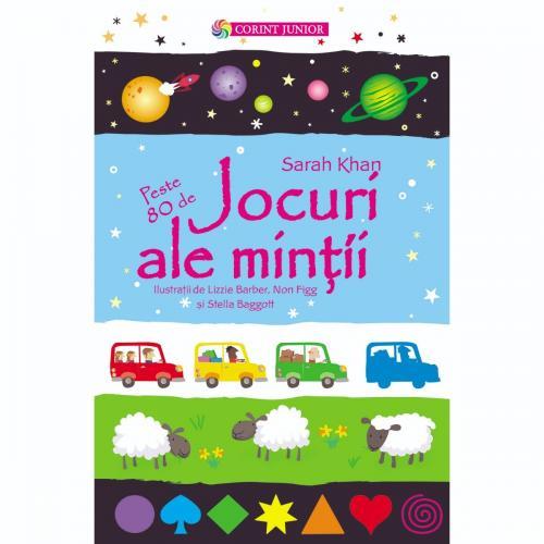 Carte Editura Corint - Jocuri ale mintii - Sarah Khan - Carti pentru copii -