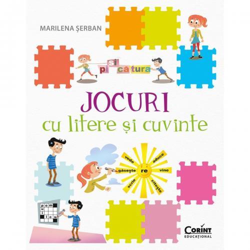 Carte Editura Corint - Jocuri cu litere si cuvinte - Marilena Serban - Carti pentru copii -
